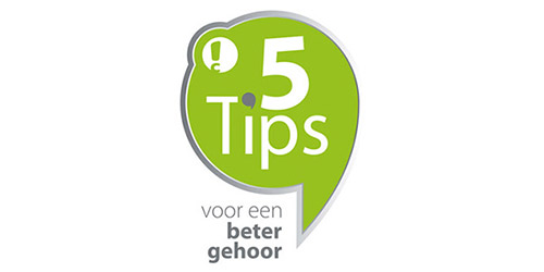 connect hearing 5 tips campagne beeld