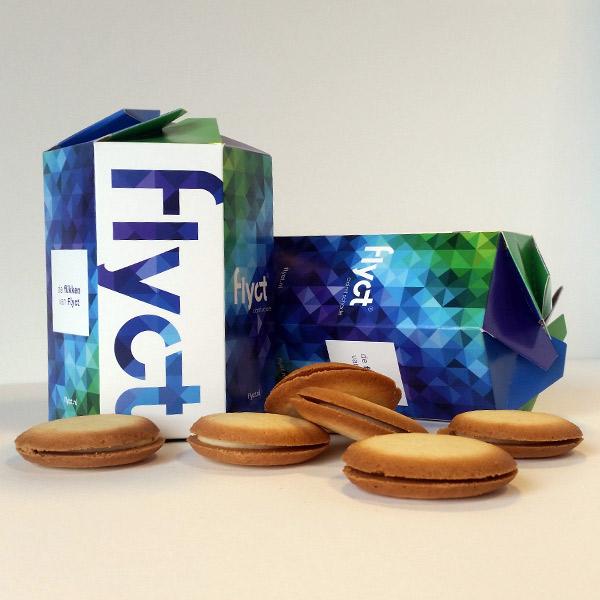 Flyct verpakking koekjes