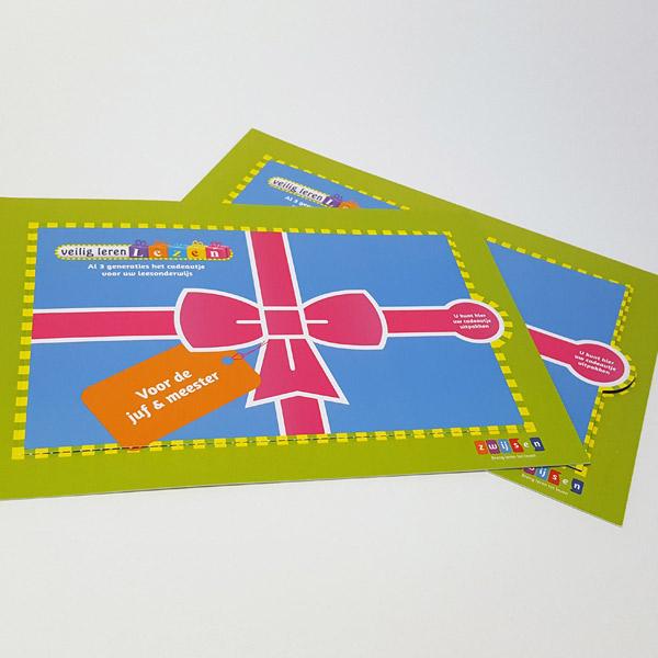 Zwijsen - veilig leren lezen - scheurkaart