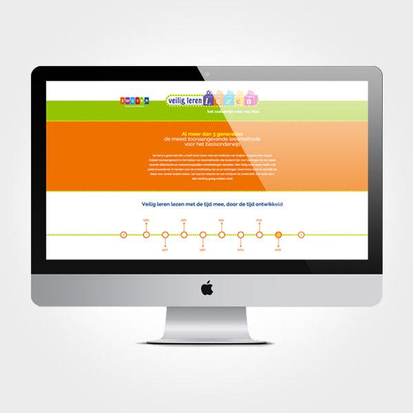 Zwijsen - Veilig leren lezen - Landingspage