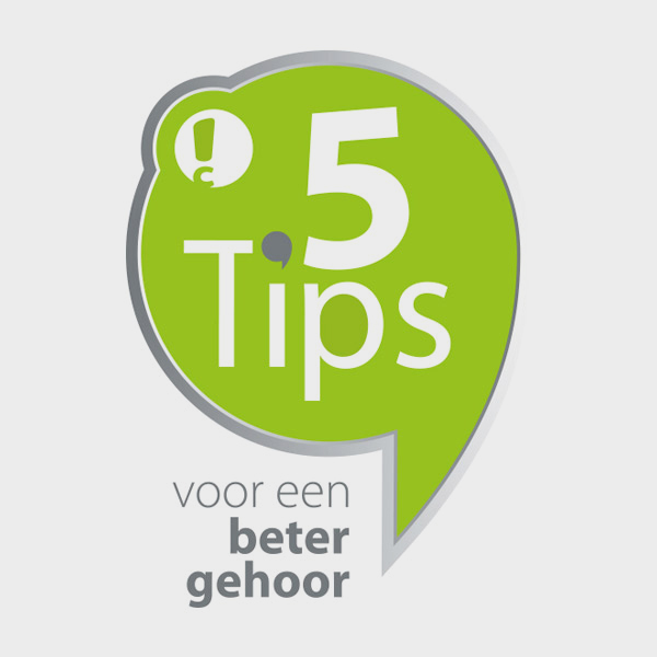 Connect Hearing 5 tips campagnebeeld
