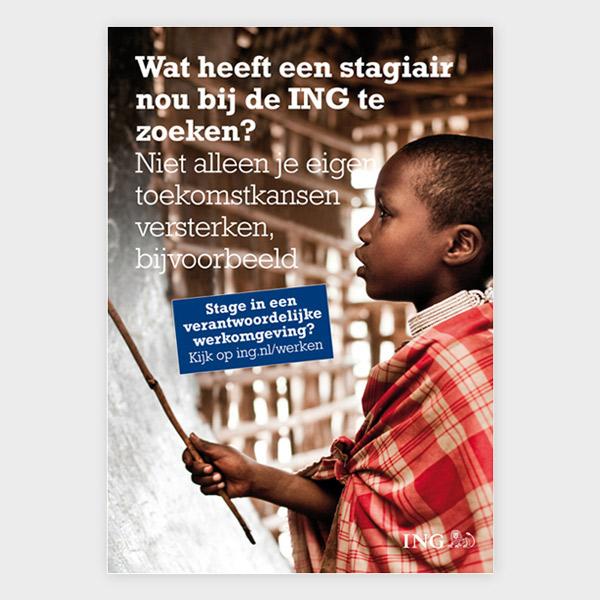 ING – Diverse opdrachten – Poster