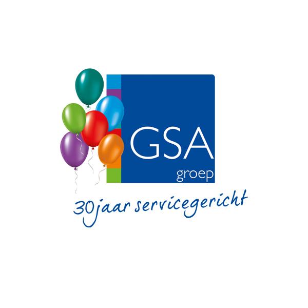 gsa logo ballonnen
