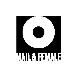 mail en female logo