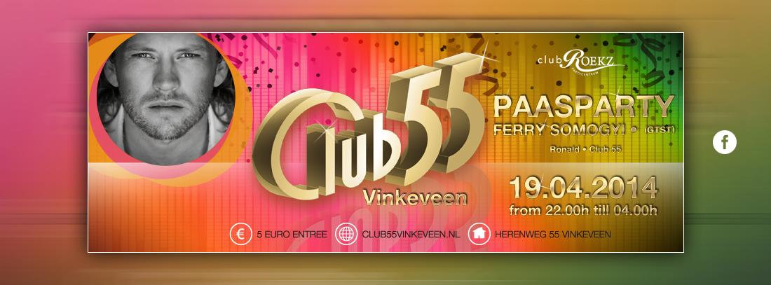 Club 55 facebook afbeelding