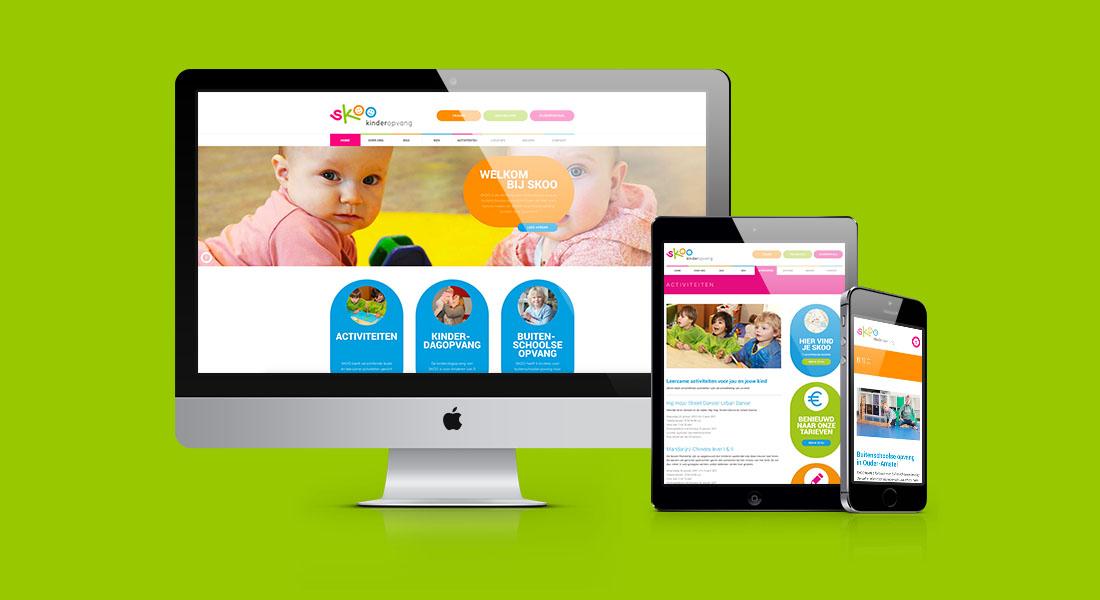 SKOO website responsive