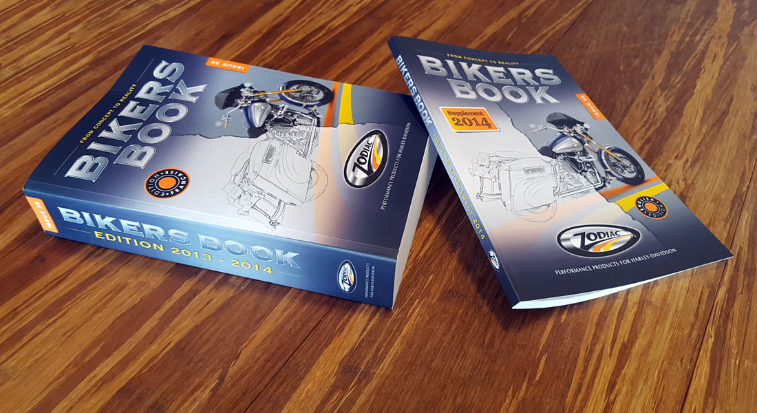 De 39e uitgave van het Bikers Book voor Zodiac