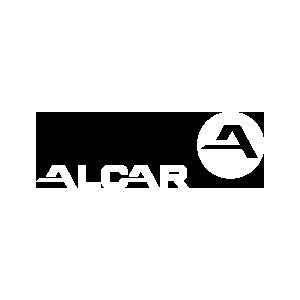 Wit logo Alcar
