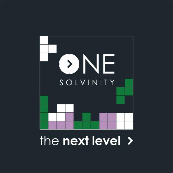 Solvinity logo zwart