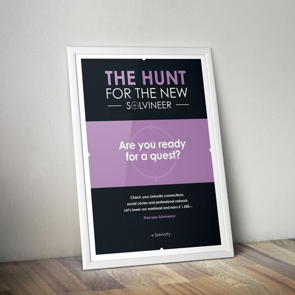 Poster van The Hunt voor Solvinity