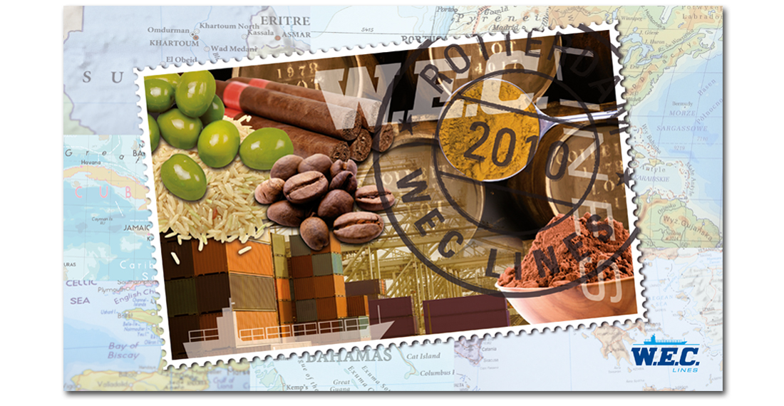 Kalender voor WEC Lines met postzegel
