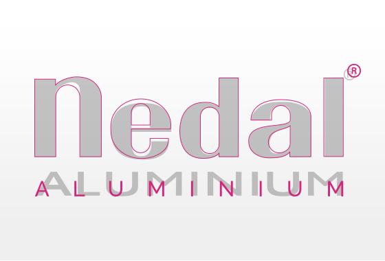 Nedal aluminium redesign logo