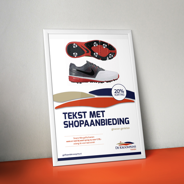 Poster voor Golfpark Kroonprins in Vianen