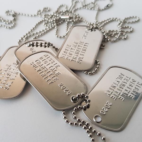 Army tags voor Missie Digitale Transitie voor onze klant Solvinity