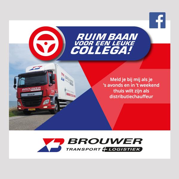 Facebook post in Brouwer-stijl - Ruim baan voor een leuke collega