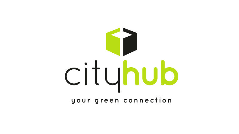 Cityhub logo voorbeeld