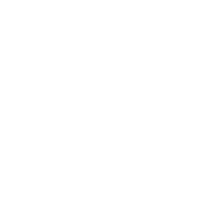 Wit logo van Stichting Maatvast op transparante ondergrond