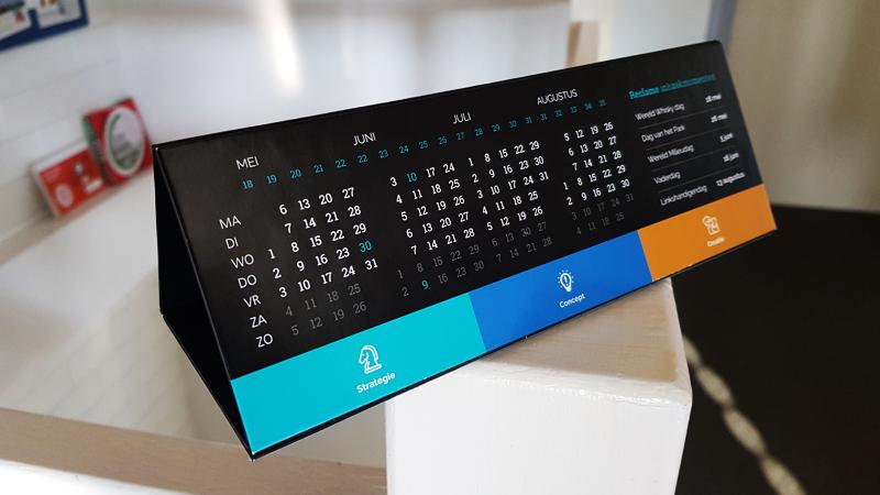 Switch Reclamebureau kalender