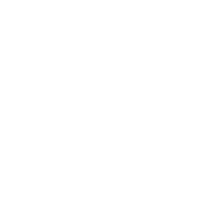 Aukes Theatertechniek logo - wit op transparant