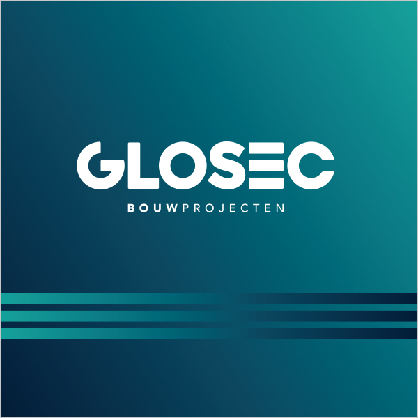 Glosec logo op achtergrond