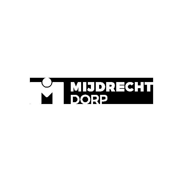 Logo Mijdrecht Dorp - wit